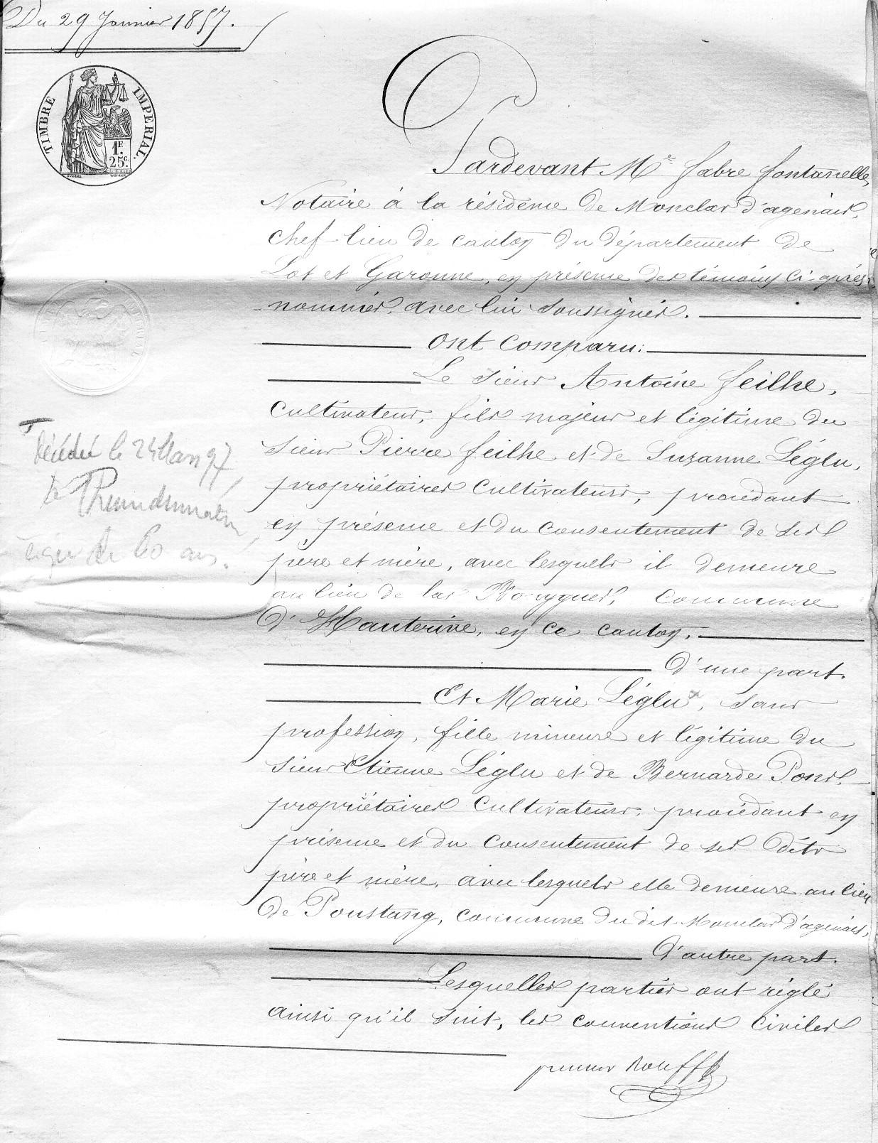 mariage entre cousins germains code civil